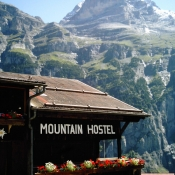 Mountain Hostel Gimmelwald Switzerland