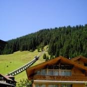 Gondola Track Murren Switzerland